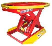 Pallet Lift Table by Scissor Lift Table Pneumatic Loading Rotating Palletpal