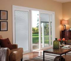 Patio Door With Blinds Between Glass by Andersen Sliding Patio Doors With Blinds Between The Glass Home
