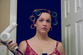husband forced to sleep in hair rollers aaaaaaaargh the bloggess