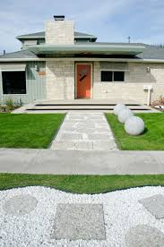 home design group love the siding color and orange door los altos mid century modern
