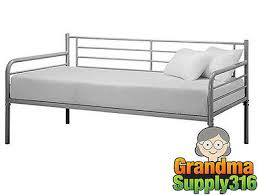 trundle bed frame twin metal frames daybed childs loft bedroom