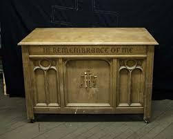 altar table for sale altars used church items