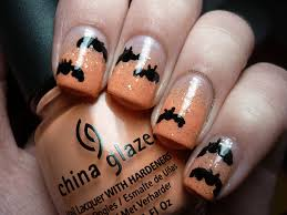 halloween nail art bats lissa s polish addiction this is