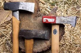 Handmade Swedish Axe - splitting axe review 3 axes 3 mauls the tool merchants