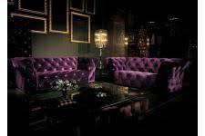 canapé chesterfield violet canape chesterfield violet sur declikdeco n 1 de la deco design