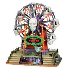 spooky town lemax spooky town collection wheel of horror with 4 5v adapter