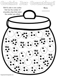 First Grade Math Coloring Worksheets If You Give A Mouse A Cookie Free Cookie Jar Math Game Book