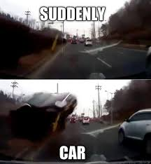 Car Wreck Meme - warning this is the world s scariest and most shocking car crash