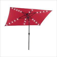Best Offset Patio Umbrella Snail 6 5 X 10 Inches Rectangular Solar Powered Offset Patio