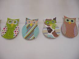 Owl Decorations by Needle And Spatula Owl Themed Baby Shower Decorations With