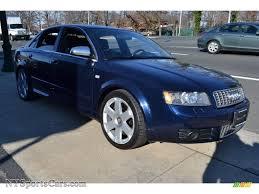 2004 audi s4 blue 2004 audi s4 4 2 quattro sedan in moro blue pearl effect photo 6
