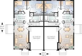 basement garage plans 1st floor planduplex plans with garage in middle duplex rear