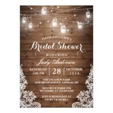wedding shower invitation jar bridal shower invitations announcements zazzle