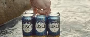 busch light aluminum bottles beer debuts first ever super bowl commercial ahead of super bowl li