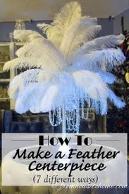 Feather Vase Centerpieces by Diy How To Make Ostrich Feather Centerpieces Plus 7 Variations