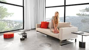 King Koil Sofa Bed by Cassius Sleek Sofa Bed Full Size Dark Khaki By Innovation