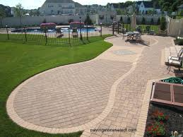 Lowes Paver Patio by Exterior Design Cozy Nicolock Pavers For Interesting Outdoor