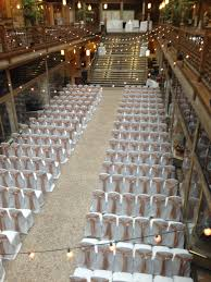 Wedding Decorators Cleveland Ohio The Arcade Set For A Beautiful Wedding Ceremony Http Cleveland