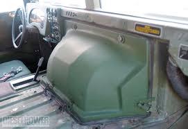 military hummer h1 hummer h1 duramax diesel engine diesel power magazine