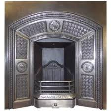 Cast Iron Fireplace Insert by Cast Iron Fireplace Insert By Thomas Jeckyll For Sale At 1stdibs