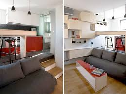 2 floor bed disappearing bed for tiny flat rolls kitchen floor urbanist