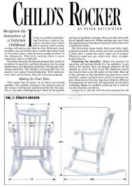 Childrens Rocking Chairs Personalized Childrens Rocking Chair Plans Inspirations Home U0026 Interior Design