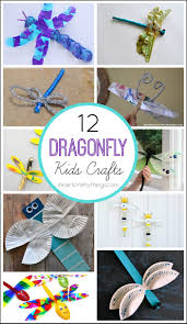 12 dragonfly crafts for kids i heart crafty things