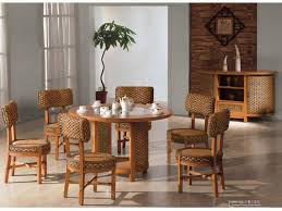 indoor wicker dining table indoor rattan dining chairs relaxing life