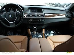 2008 bmw x6 xdrive50i saddle brown dashboard photo 54224934