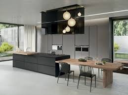 kitchen island with dining table cuisine avec îlot central 43 idées inspirations kitchens