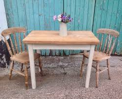 Rustic Country Pine And Painted Furniture So Country - Small pine kitchen table