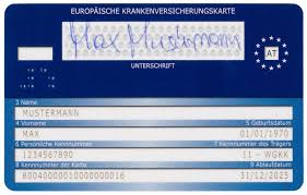 e card information