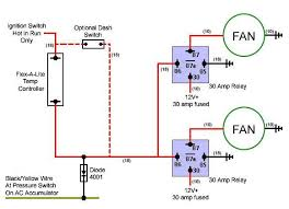 wiring diagram for electric fan