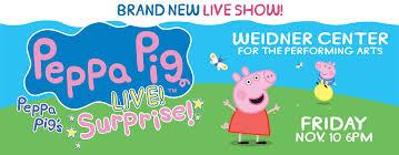peppa pig live ticketstar
