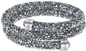 swarovski stainless steel bracelet images Swarovski crystaldust bangle double 5237762 bracelet in duty free jpg