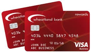 Rewards Business Credit Cards Business Credit Cards U003e Wheatland Bank