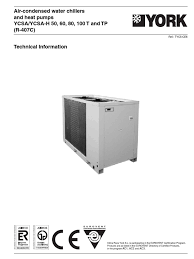 ycsa 50 60 80 100 air conditioning heat pump