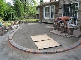 Concrete Paver Patio Designs Brick Paver Patio Ideas Patio Design Ideas Amazing