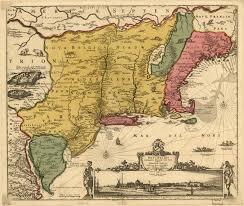Blank 13 Colonies Map New Netherland Wikipedia