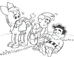 good samaritan coloring page 9528