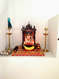 Decoration Of Temple In Home Weekend Tweaks My Pooja Space In Our Home