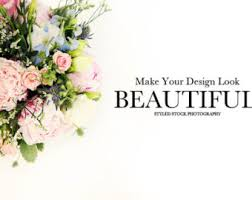 wedding flowers background floral background flower background product mockup