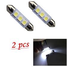 car dome light bulbs hoa u 2x36mm 3led 5050 smd car interior festoon dome light bulbs