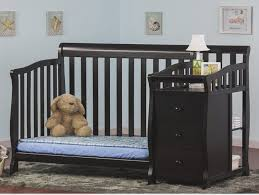 Black Convertible Crib The Modern Of Black Convertible Crib With Changing