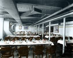 Titanic First Class Dining Room Doomed Ship Titanic Is Pictured As You U0027ve Never Seen Her Before In