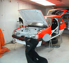 peugeot 205 rally peugeot 205 1 9 gti rally project