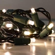 60 led garland lights warm white