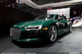 audi r8 is the u201c2016 world performance car u201d audiworld