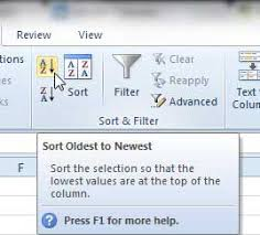 sort a column by date in excel 2010 solve your tech