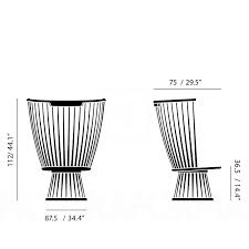 tom dixon fan chair modern and contemporary lighting fixtures